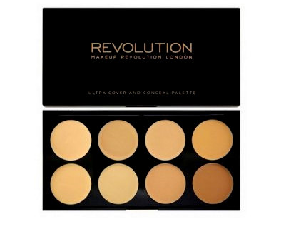 Buy Makeup Revolution Ultra Cover and Conceal Palette online in India Nykaa Nykaa - Mozilla Firefox 892016 83947 PM